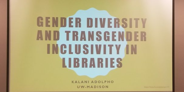 'Gender Diversity and Transgender Inclusivity in Libraries